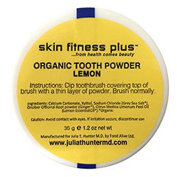 Organic Tooth Powder Lemon