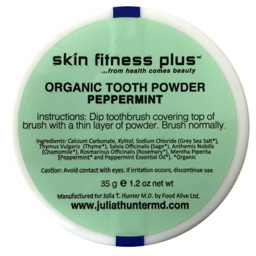 Organic Tooth Powder Peppermint
